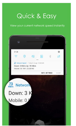 Network Speed android