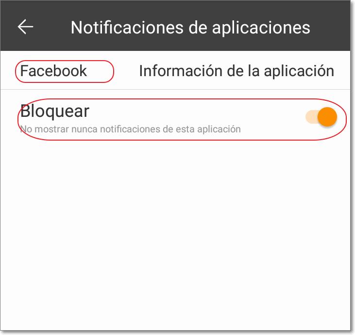 quitar todas las notificaciones facebook celular