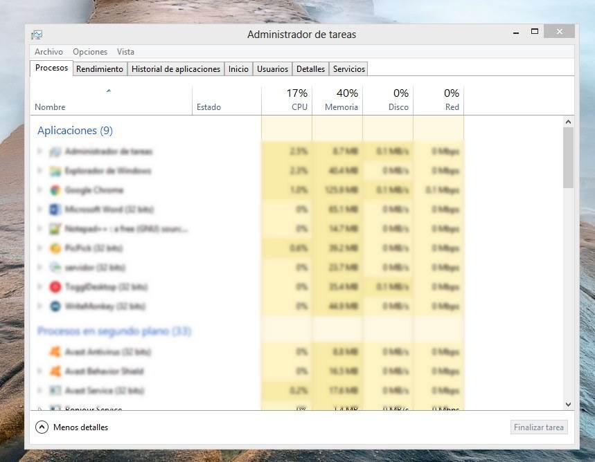 Administrador de tareas de Windows no abre