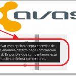 Avast comparte tu información con terceros ¿lo sabias?