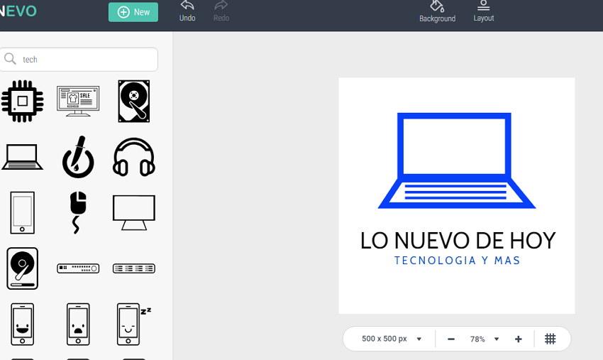 crear un logo online gratis