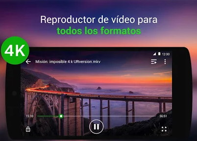 mejor reproductor de video android