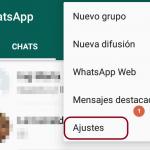 cambiar numero whatsapp paso 1