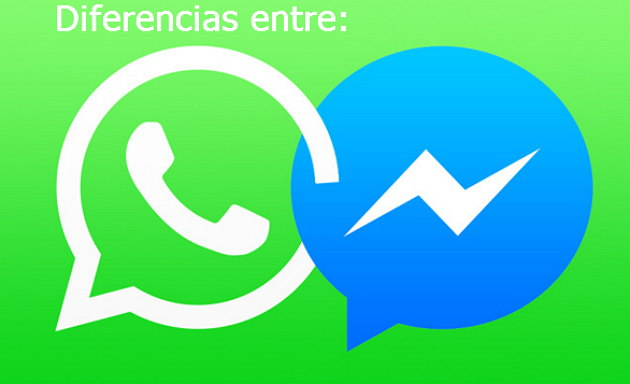 diferencias entre whatsapp y messenger