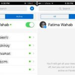 Como eliminar contactos en Messenger