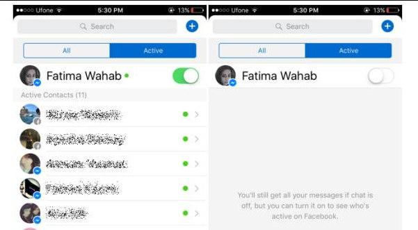 eliminar contactos de messenger o facebook