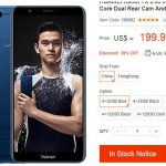 Honor 7X gama media por menos de 200 dolares