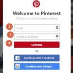 Cómo crear una cuenta de Pinterest