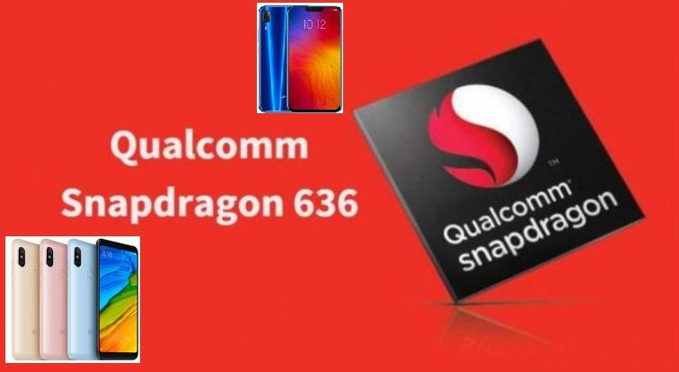 Móviles con el procesador snapdragon 636