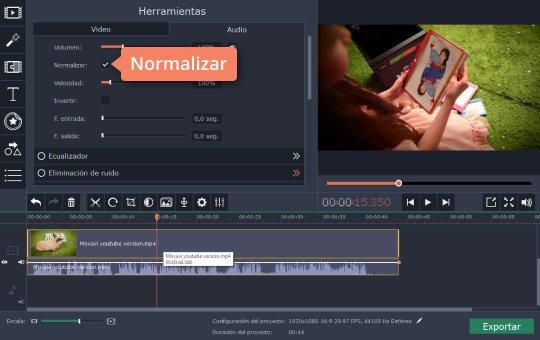 audio normalizado