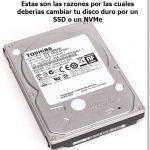 Razones por las cuales debes cambiar tu disco duro por un SSD o NVMe