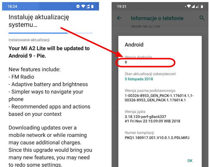 actualizar tu Xiaomi Mi A2 Lite a Android 9