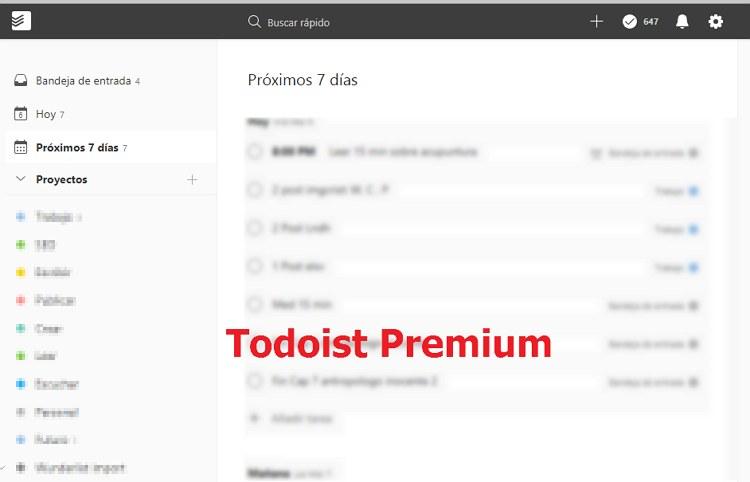 Todoist Premium gratis