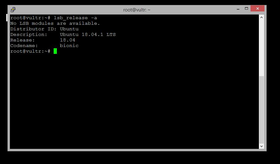 que version de linux o ubuntu tengo