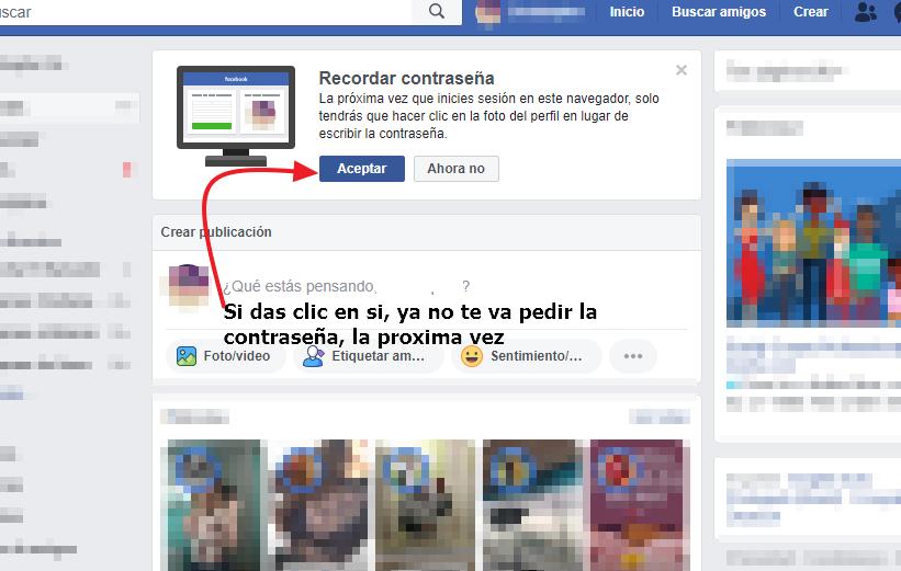Facebook sin tu contraseña entrar tutorial