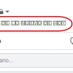 escribir subrayado en facebook tutorial