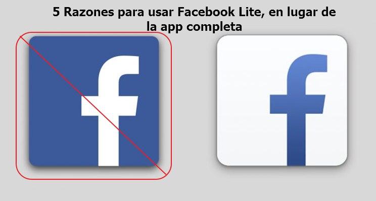 razones para usar facebook lite