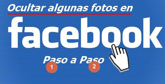 ocultar fotos en facebook