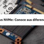 SSD vs NVMe ¿Cuál es la diferencia?