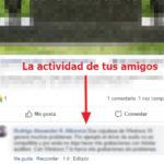 Cómo ver la actividad de likes y comentarios de tus amigos en Facebook