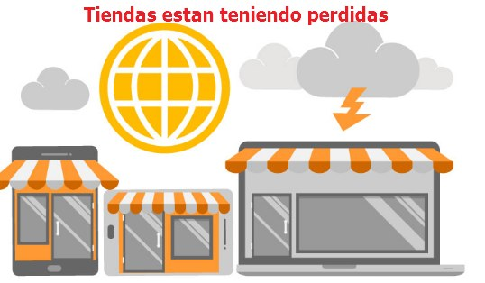 tiendas online perdidas por coronavirus