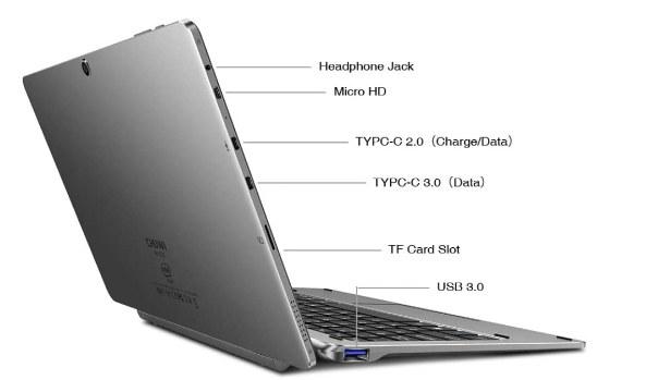 Chuwi Hi10 X tablet con procesador intel