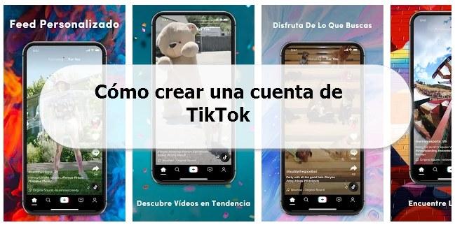 Como crear una cuenta de TikTok tutorial