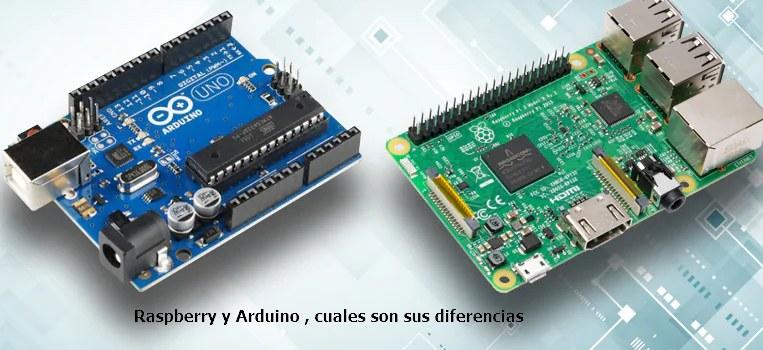 las diferencias entre Raspberry y Arduino