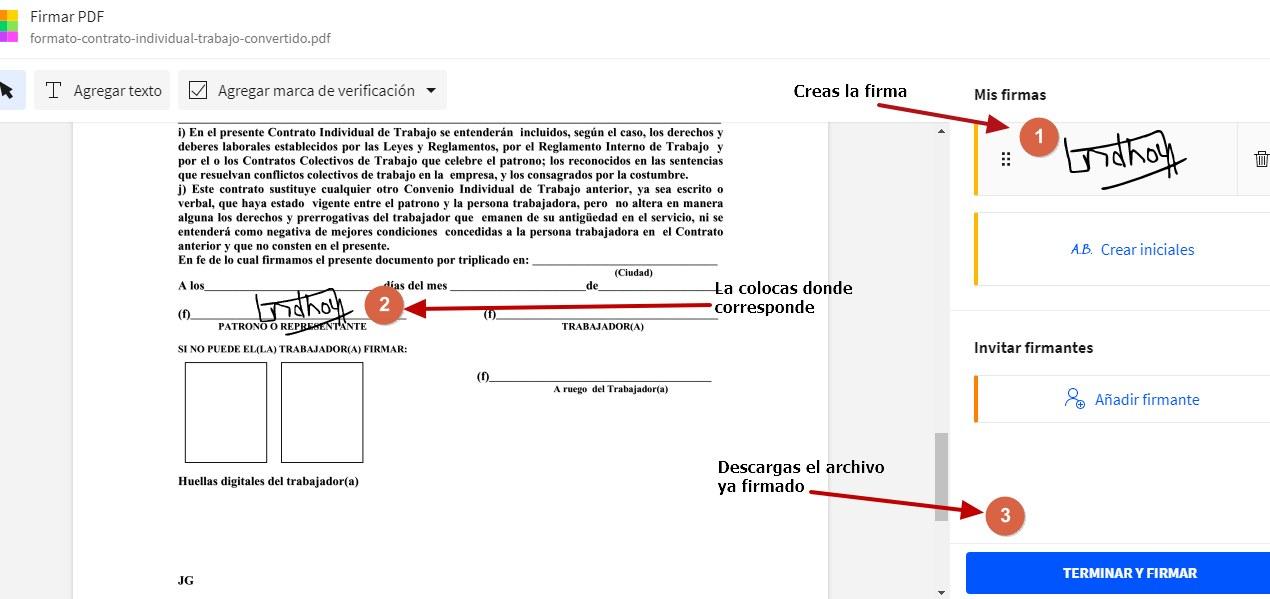archivo firmado PDF