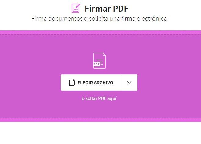 como firmar un PDF online