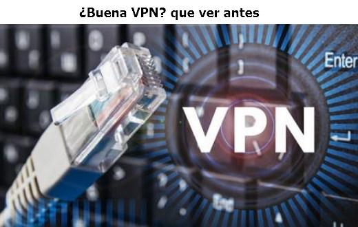 buena VPN requisitos